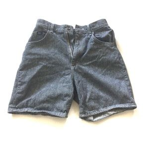 vtg Lee Riders Mom High Rise Jeans Shorts